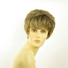 short wig for women brown wick golden ref BRANDY 6t24b PERUK