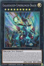 YUGIOH   Galaxieaugen Cipherklingen Drache   EXFO-DESE4 Extreme Force