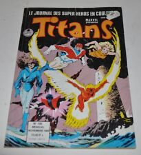 TITANS #130 French Comic Book 1989 Marvel France Excalibur