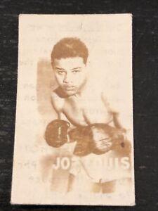 1948 Topps Magic Photos JOE LOUIS #15A Boxing Champions