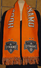 "Perfection Promo - HOUSTON DYNAMO Soccer - Orange - Winter Fringe SCARF 8"" x 60"""