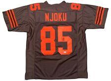 David Njoku autographed signed jersey NFL Cleveland Browns PSA Miami Hurricanes