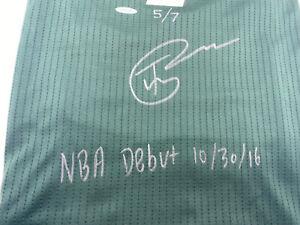 Thon Maker Signed Autographed Swingman Jersey Milwaukee Bucks UDA RARE 5/7!!