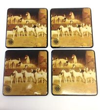 Dog Coasters Set of 4 Hunting Dogs Akc