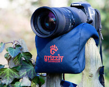 Grizzly Birdwatching, Safari, Scope, Camera Lens Bean Bag Support (Med-Blue)