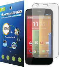 Clear LCD Screen Protector Cover Guard Saver Skin Motorola Moto G XT1028 XT1032