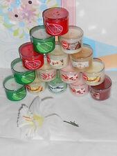 Bath & BodyWorks/Slatkin & Co Huge Lot of Assorted Mini Candles + Holders NEW