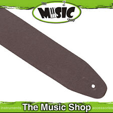 """Xtreme 2 1/2"""" Inch Top Grain Brown Leather Guitar Strap with Internal Padding"""
