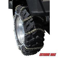 "Extreme Max ATV Tire Chains V-Bar SIZE C+ 61"" X 16"" Snow Ice Yahmaha Polaris Mud"