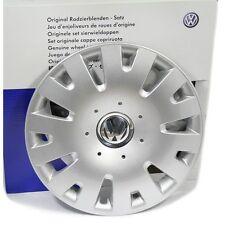 Original VW Polo 9N / Fox 14 Zoll Radkappen Satz Radzierblenden Abdeckung Silber