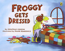 Froggy Series : Froggy Get's Dressed (pb) Johathan London  NEW