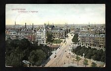 Posted C1910 View of Amsterdam