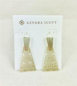 Kendra Scott Keerti Gold Filigree Earrings