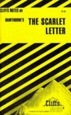 Hawthorne's The Scarlet Letter by Cliffs Notes Staff (1960, Paperback, Revised)