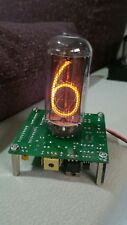 MOUNTED NIXIE CLOCK PCB WITH NH-18 TUBE WITHOUT CASE
