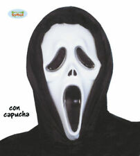 MASCHERA ASSASSINO SCREAM CARNEVALE ADULTO HALLOWEEN IN PLASTICA SCARY MOVIE