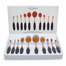 10pcs Powder Blending Make Up Brushes Set Foundation Contour Makeup Kits No box