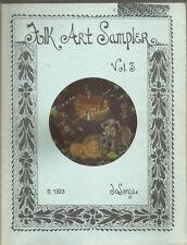 Folk Art Sampler Vol 3 Jo Sonja PB 1980 (Tole)