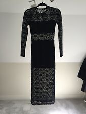 Black Lace Dress- Forever 21 New with tags size s