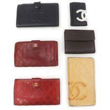 Chanel Leather Wallet Key Case 6 pieces set 517980