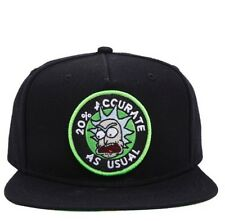 Cartoon Network Adult Swim Rick And Morty 20% Accurate As Usual Snapback Hat