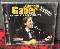 Giorgio Gaber La Ballata del Cerruti CD NEW Best Of il meglio di Greatest hits N