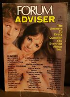 Penthouse Forum Advisor Magazine 1977 Answers To Questions About Human Sexuality