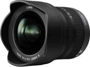 Panasonic Lumix G Vario 7-14mm f/4 AE Aspherical AF ED Lens - Black