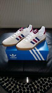 """Terraces originals.adidas """"Indoor Super"""" originals trainers size 9 uk eur 43 1/3"""
