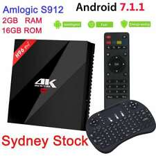 H96 Pro+ Octa Core Android 7.1 Smart TV Box 2+16GB S912 HDMI 4K With Keyboard