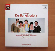 Millocker Der Bettelstudent Rita Streich Gedda Prey EMI 2xLP NM/EX Stereo Quad