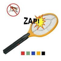 Electric Hand Held Bug Zapper Insect Zapper Fly Swatter Racket Mosquitos Killer