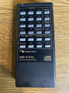 Nakamichi MB-3/4RC Remote Control
