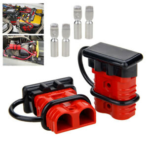 2pcs 175A Car Battery Quick Connect Disconnect Power Wire Connector Winch Plug