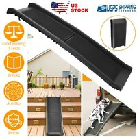 176lbs Travel Car Pet Ramp Dog Foldable Non-Skid Outdoor For Cars SUVs Trucks