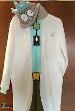 BNWT 'RICK' Mens XL/XXL Onesie Sleepsuit PJs Primark Fancy Dress Rick & Morty TV