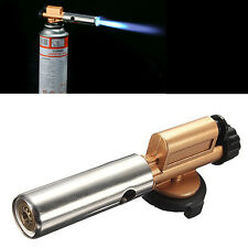Portable Gas Torch Jet Flame Maker Lighter Gun Butane Weld Burner for Picnic BBQ