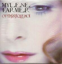 MYLENE FARMER ** OPTIMISTIQUE - MOI **  CD 2 TITRES - POCHETTE CARTONNEE