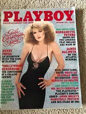 Playboy December 1981 Gala X-Mas Issue: Bernadette Peters, Patricia Farinelli