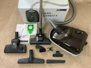 Sebo Airbelt E1 Boost Cylinder Vacuum Cleaner - Excellent Hardly Used Condition