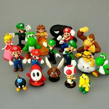 SUPER MARIO BROS lot de 5 Figurines  poupée MARIO  LUIGI jouet décor