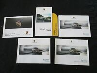 2015 Porsche Cayenne S GTS Diesel Turbo Owner's Manual Driver Book & Maintenance