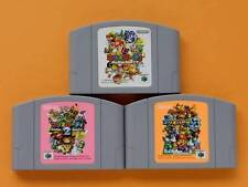 Nintendo 64 Mario Party 1 2 3 set Japan N64