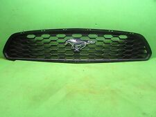 Ford Mustang 2015 2016 2017 V6  grille Front upper with emblem OEM texture