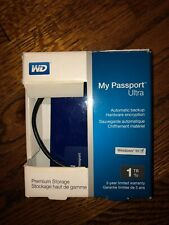 WD My Passport Ultra 1 TB External Hard Drive with FREE SHIPPING