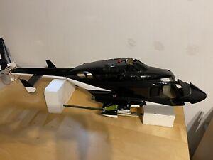"""Fun-Key """"AIRWOLF"""" Scale Rumpf T-Rex 600 - mit Einziehfahrwerk + Beleuchtungj TOP"""