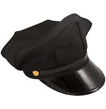 Chauffeur limousine conducteur jeeves parker chapeau bonnet costume robe fantaisie fête prop nouveau