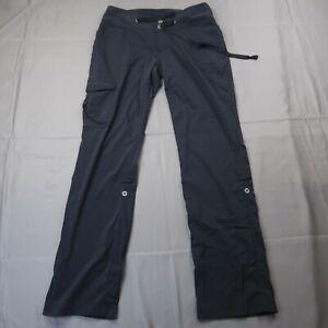"Columbia Women's Size 6 Omni-Shield Hiking Pants Black 31"" Inseam Roll Up"
