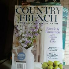 Country French Rustic and Romantic September 2020