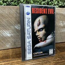 Resident Evil - Complete (Sega Saturn, 1997) Game Authentic Tested